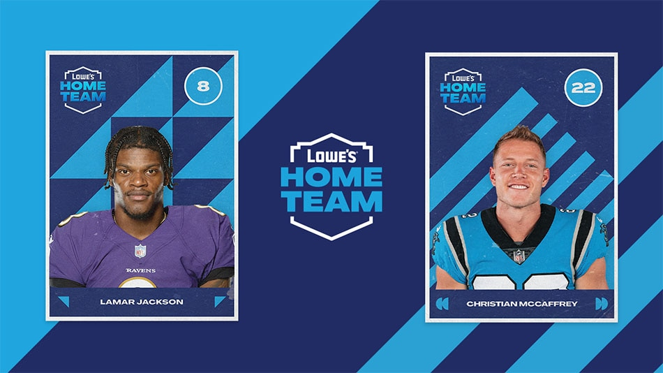 Lowe S Unites Nfl Fans With A New Type Of Home Team Home Improvement Retailer