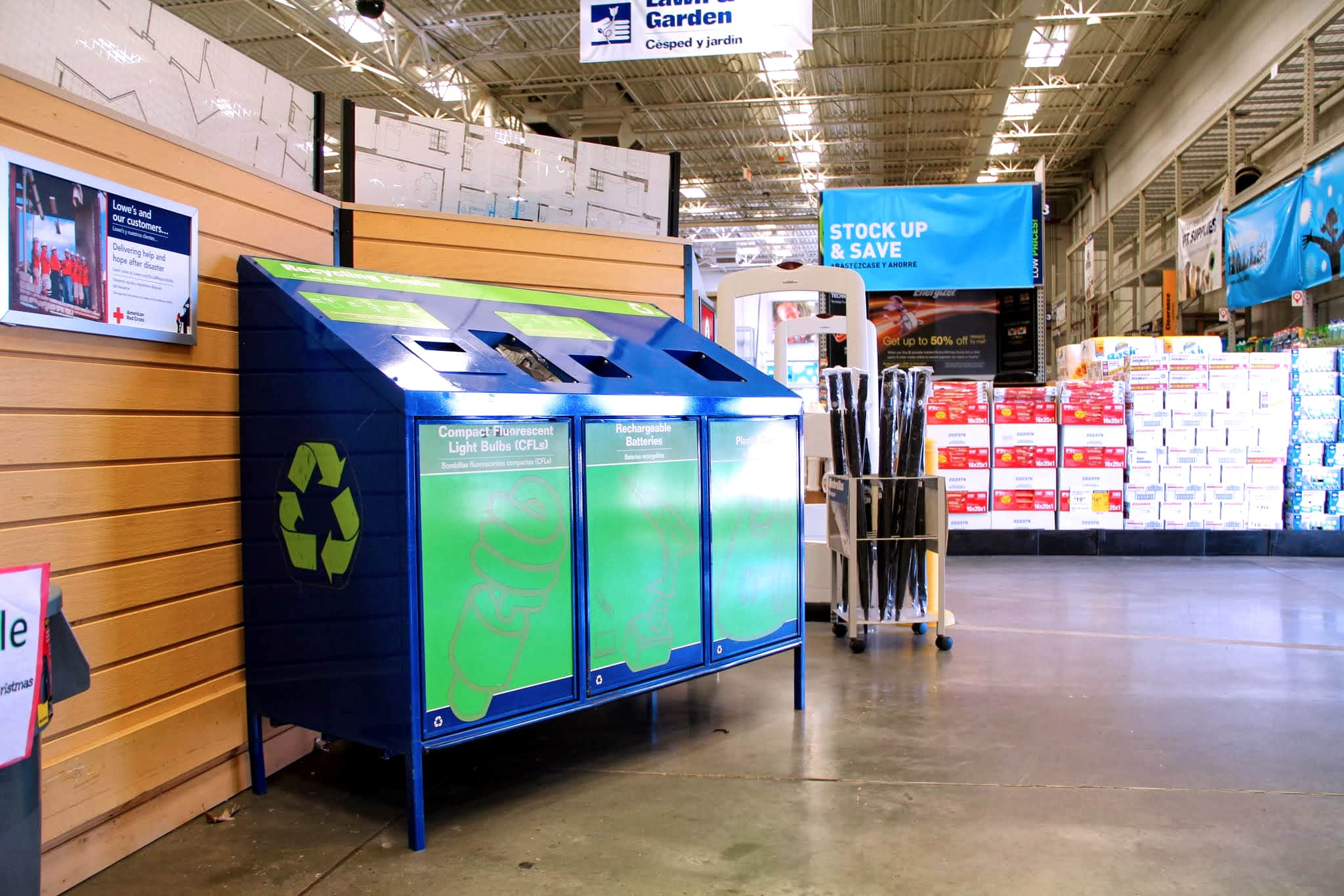 3 easy ways to help recycle rechargeable batteries   Lowe's Corporate